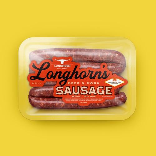 Longhorn Meat Market Smoked Sausage