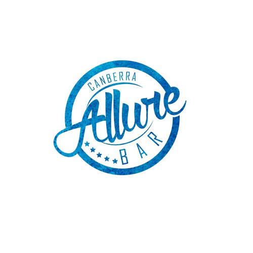 Allure Bar concept logo
