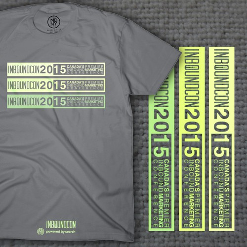 T-Shirt Design for a Canadian Marketing Conference