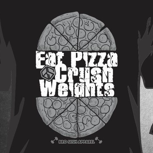 eat pizza crush weight