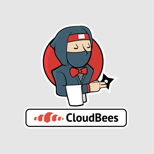 Fun sticker for CloudBees!