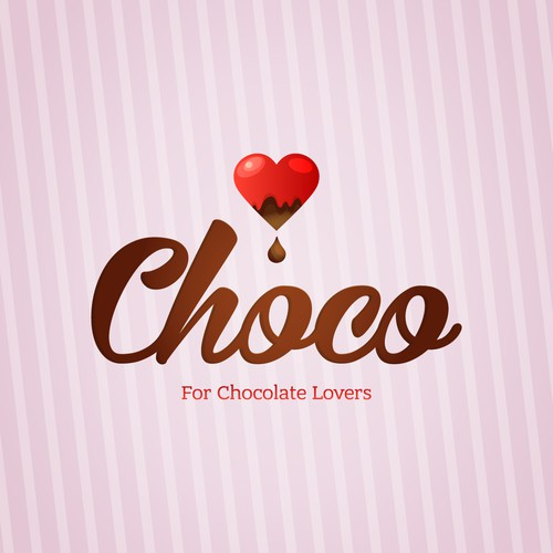 create a sweet and attractive image for Chocolate lovers!