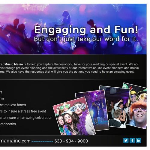 Create a preferred vendor ad for Music Mania Inc.