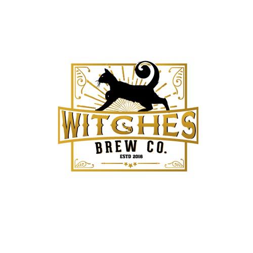 Logo for brew company