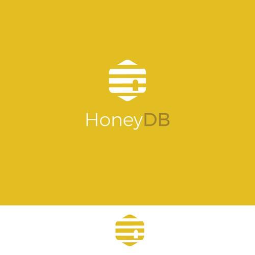 HoneyDB logo concept