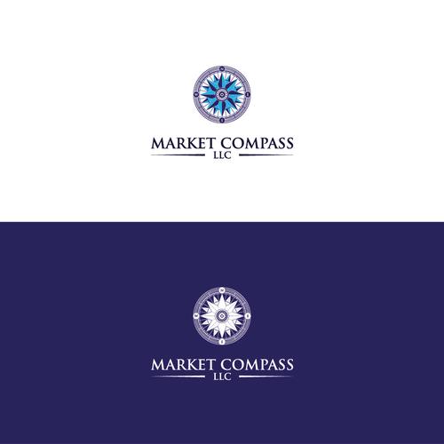 Bold Logo Concept for Market Compass LLC