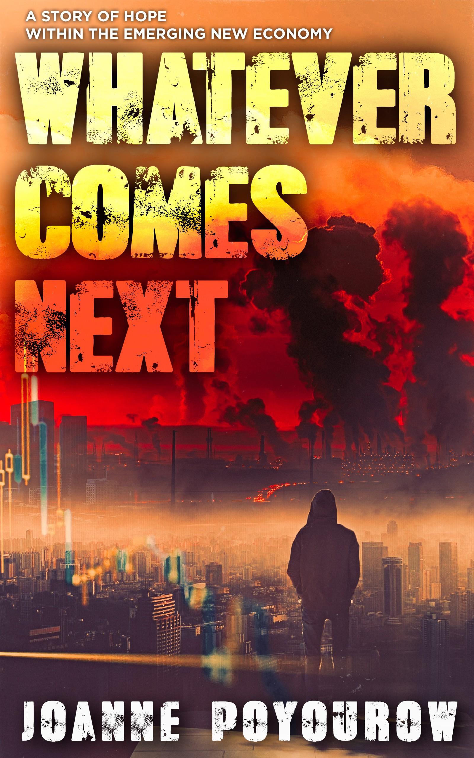 Design a thrilling cover for a political/environmental ebook