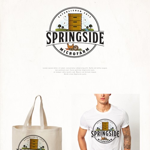 Logo for Springside Microfarm