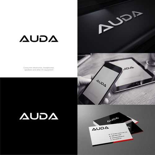 Design a logo for an up and coming AV manufacturer
