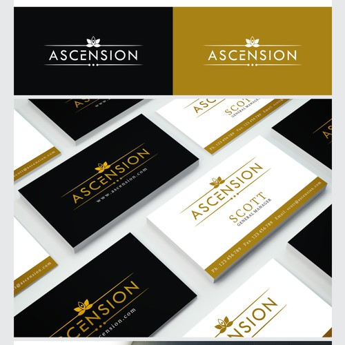 Create a sleek understated logo for a high end life transformation program