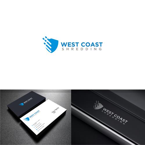 Bold logo concept For West Coast Shredding
