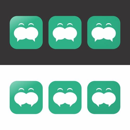 Chitchat App的图标设计