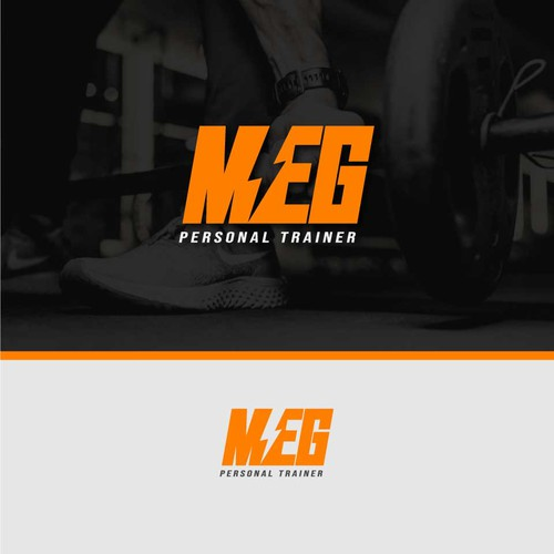 Logo concept for personal trainer