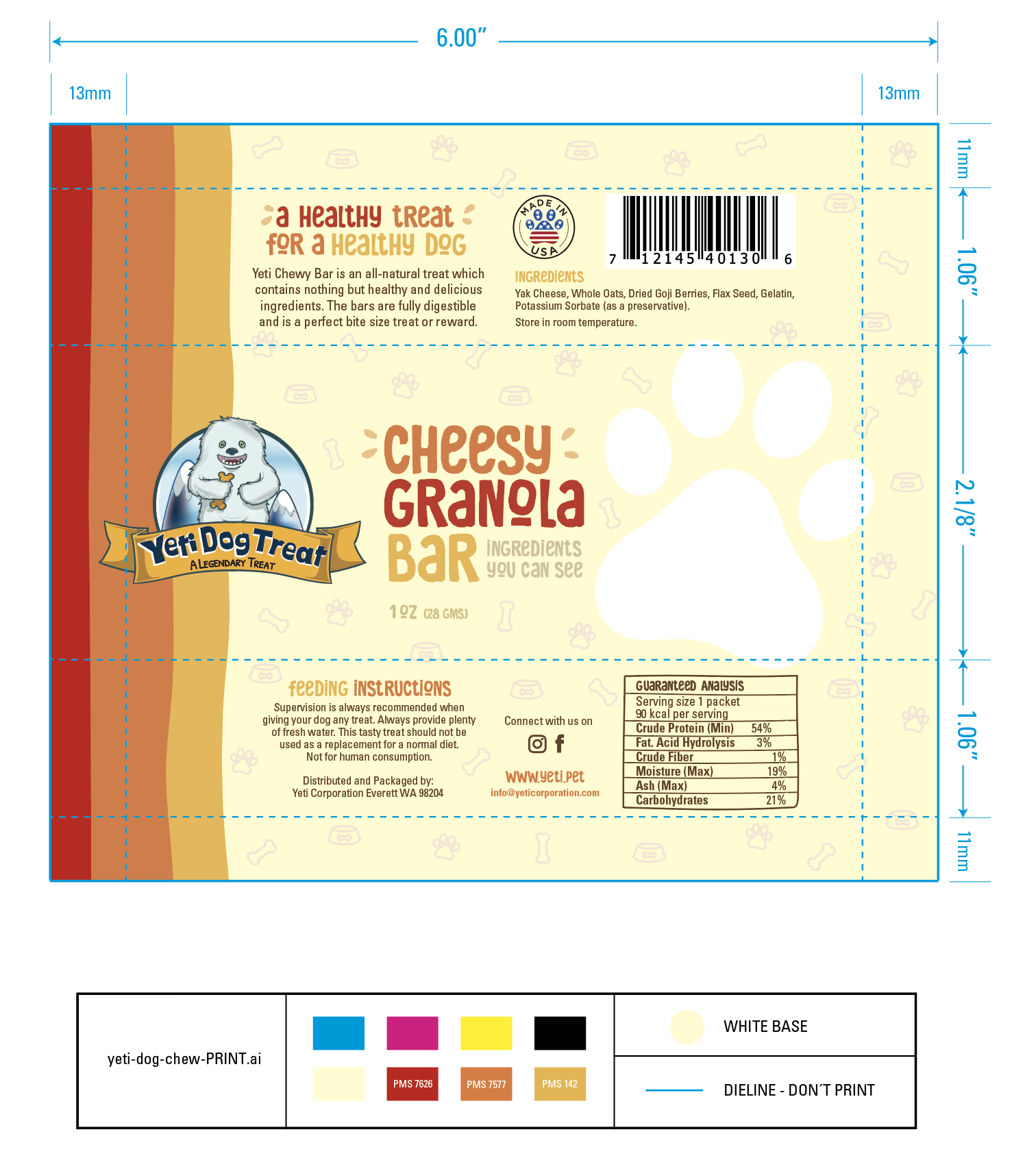 DOG LOVERS? Design an Awesome Doggie Granola Bar Packaging