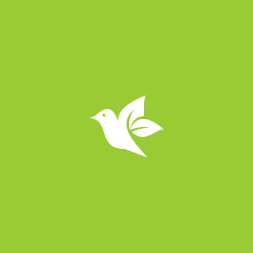 bird + leaf