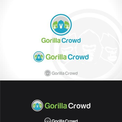 Gorilla crowd