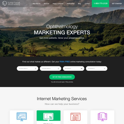 Internet Marketing Experts Website Design