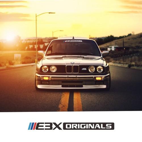 E3X Originals Logo Design