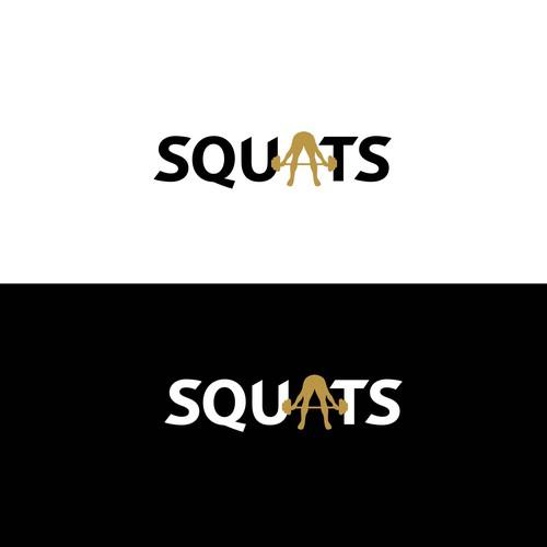 Squats Logo