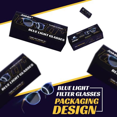 Blue Light Glasses Packaging