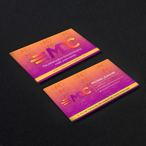 Business card,Design