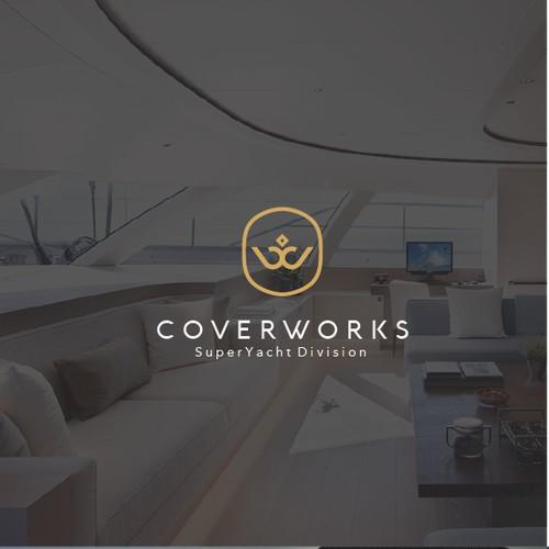 CoverWork Logo Design