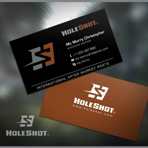 HoleShot Logo Concept