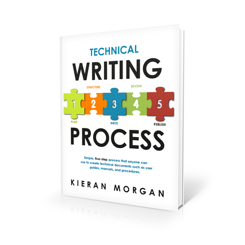 Create a great cover design for my book, Technical Writing Process