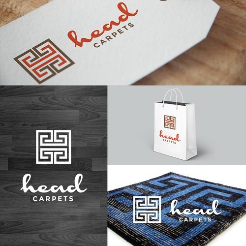 Logo for a online shop for designer carpets.