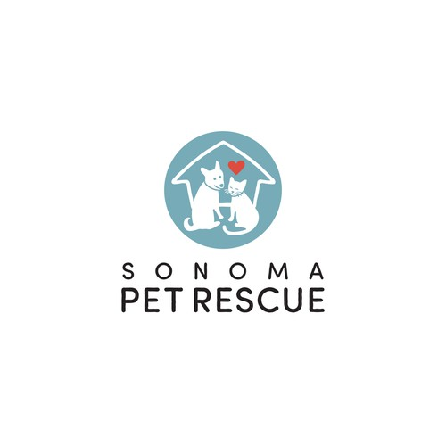 Logo for non-profit Animal Rescue.