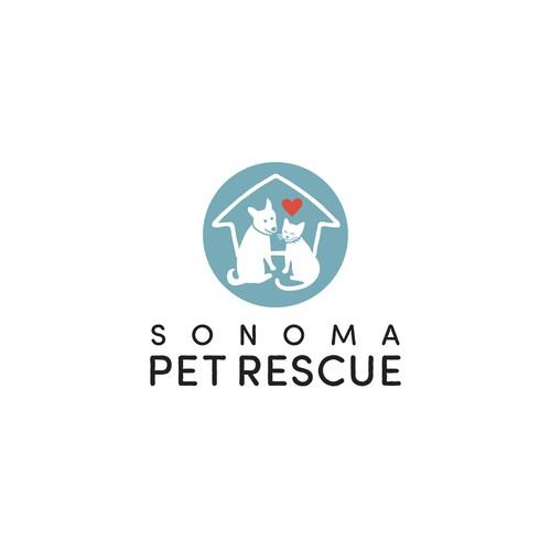 Logo for non-profit Animal Rescue.