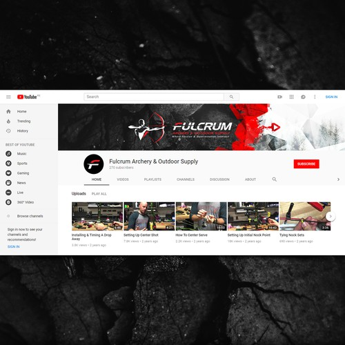 Youtube cover for Fulcrum