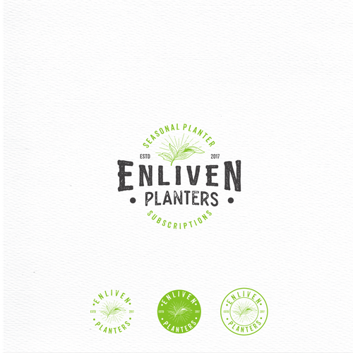 Enliven Planters logo