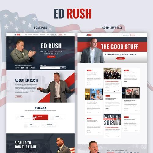 Personal website designs