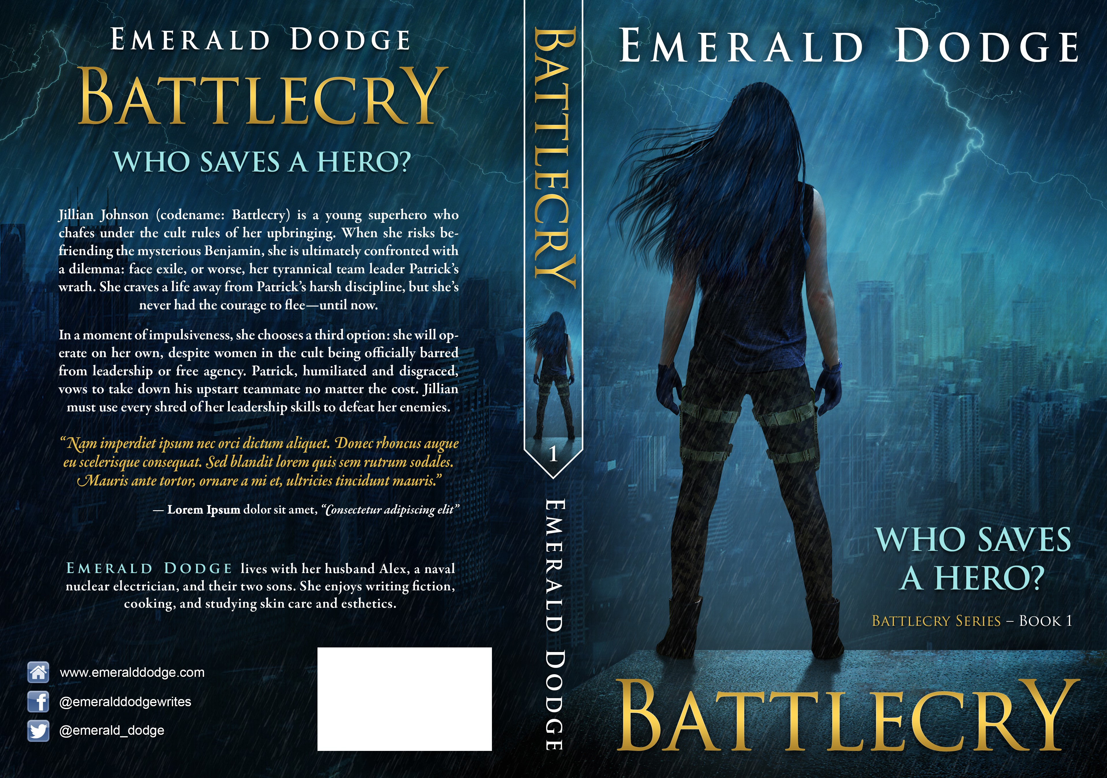 Create a powerful cover for a heart-pounding action/drama novel