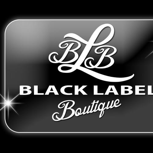 Logo forBlack Label Boutique website!!!!