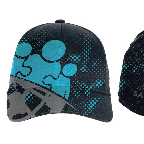 Cap design concept for Saving Brothers