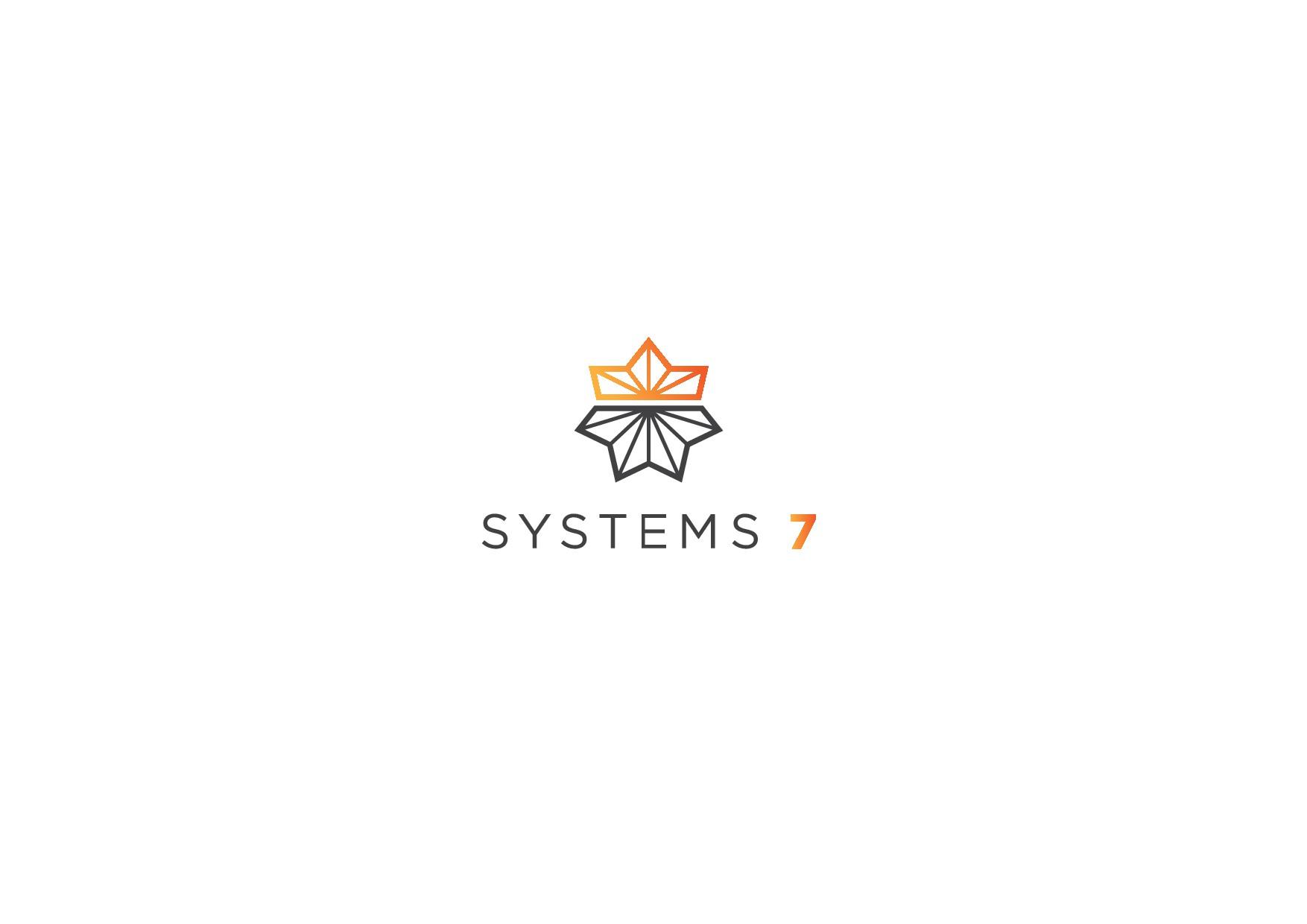 Erstelle ein königlich technisches Beraterlogo für Systems7