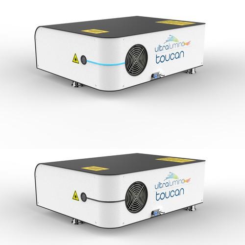 UV-laser housing