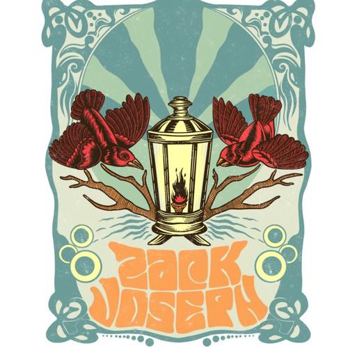 Designs t-shirt for zack joseph