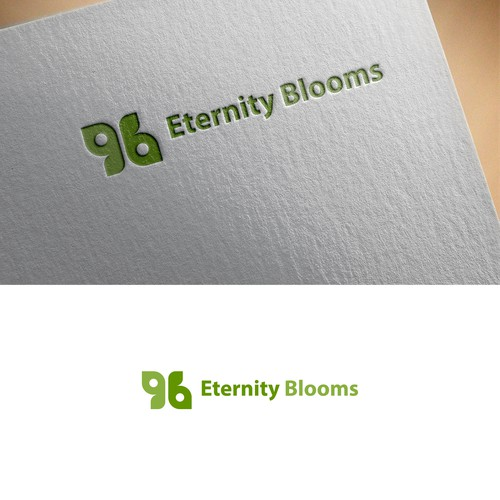 logo concept for Eternity Blooms
