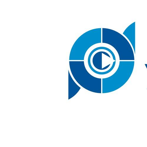 Make a high-tech logo for a professional video cameraman!!