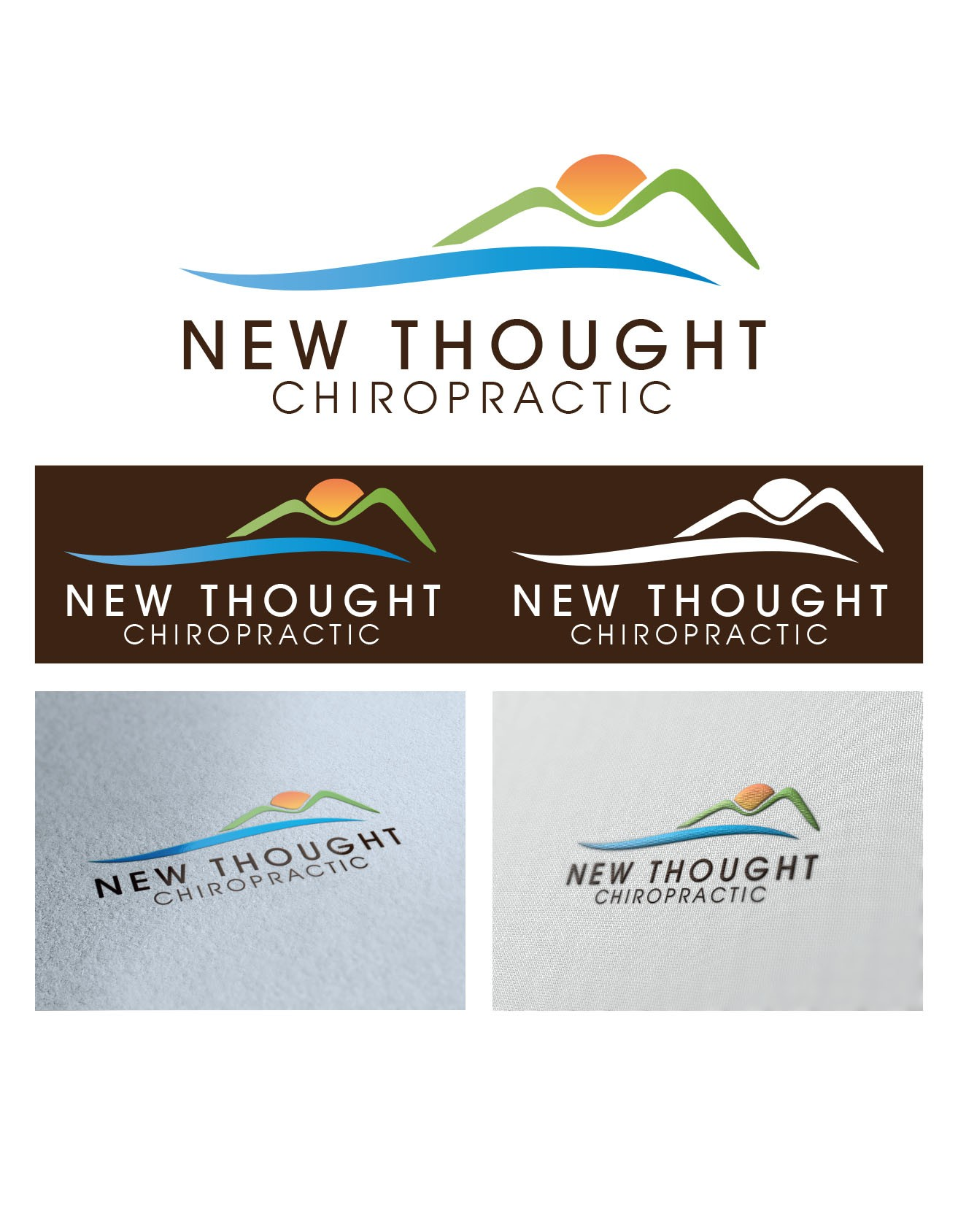 Help New Thought Chiropractic with a new logo