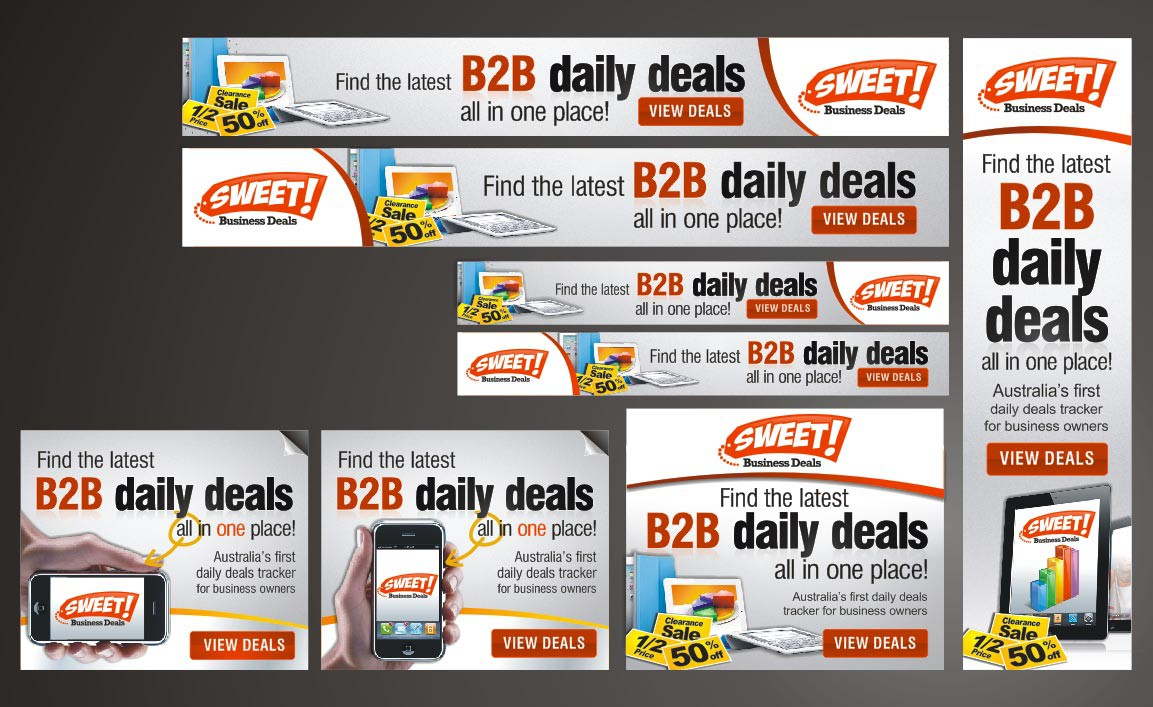 Sweet Business Deals needs a new banner ad