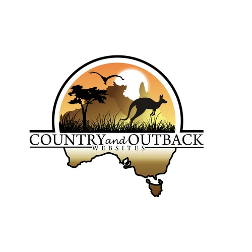 Perfect logo design for  Country and Outback Websites