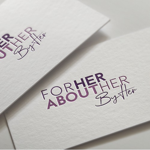 Logo For: Her About Her By Her