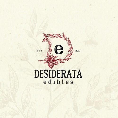 Chocolate Edibles Logo Design