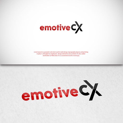 Emotive CX - Logo Design