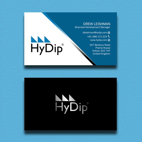 Design a Business Card for HyDip