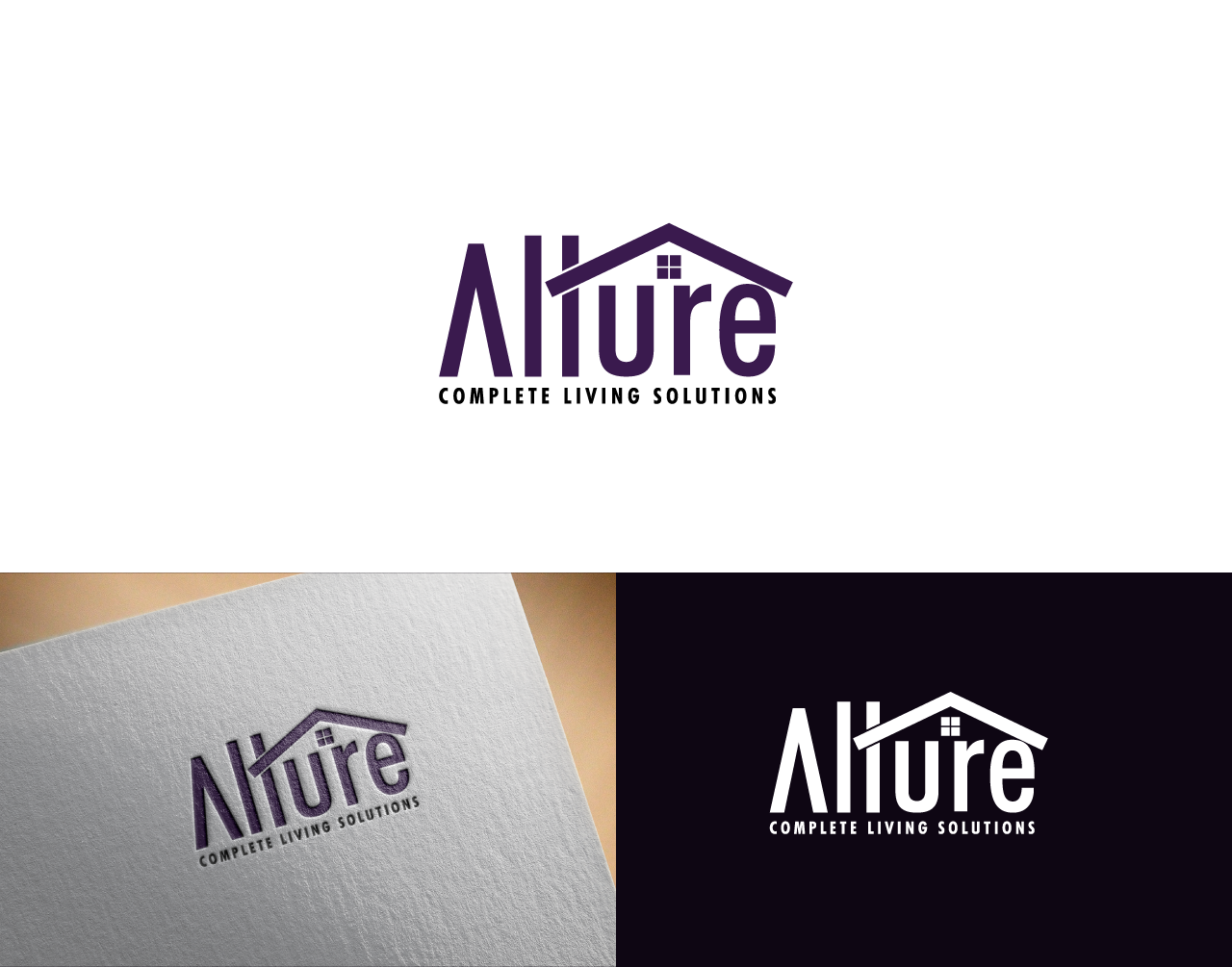 Create a top class and simple design at the same time for archticher and interior design company